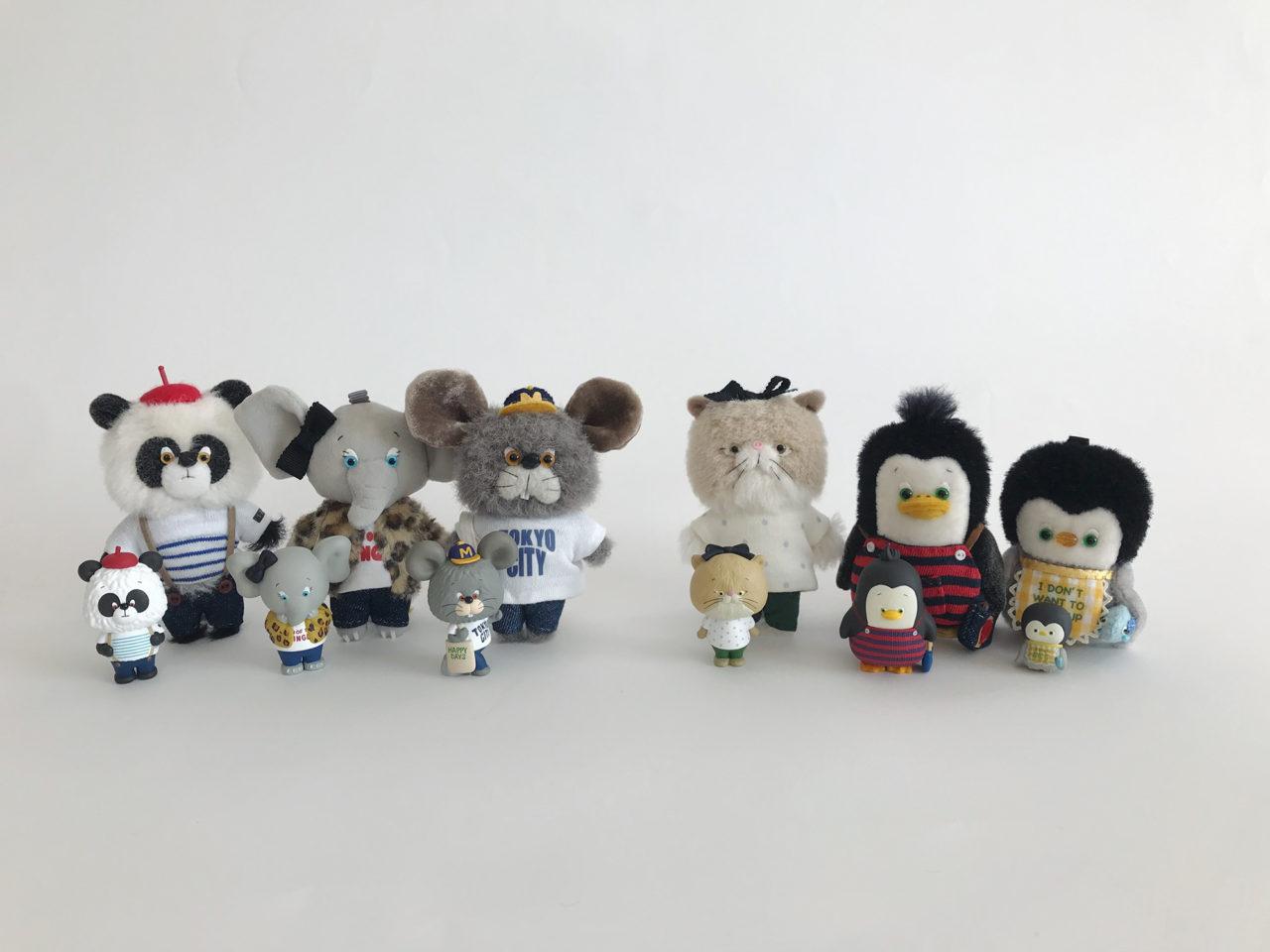 いしがあかね個展「Tiny Zoo - ORIGINAL」